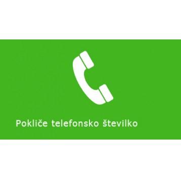 Pokliče telfonsko številko