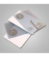 NFC poslovna vizitka 1k - transparentna plastika